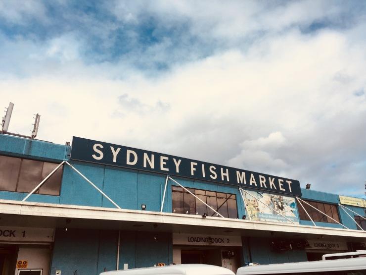 Sydney Fish Market Australie