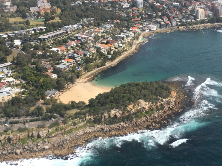 shelly beach vol hydravion sydney australie