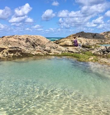champagne pools fraser island itineraire australie
